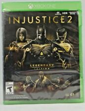 Injustice 2: Legendary Edition (Microsoft Xbox One, 2018) New sealed !