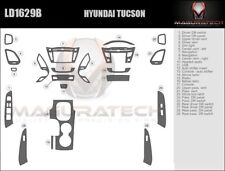 Fits Hyundai Tucson 2010-2013 With Manual Trans Basic Premium Wood Dash Trim Kit