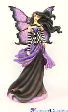Amy Brown Goth Purple Fairy Figurine AB37016 Retired Last One