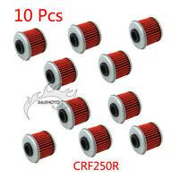 10x Oil Filter For HUSQVARNA TC250 TE250 HONDA CRF450X TRX450ER CRF150R CRF250R