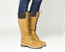 Womens Timberland 14 Inch Premium Boots Wheat Boots
