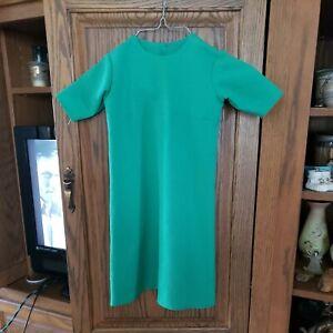 AMISH GIRL'S GREEN DRESS-HANDMADE 22'' BUST 24'' LONG