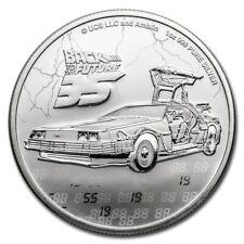 2020 back to the future 35th Ann.1 oz silver - plata 0.999 / regreso al futuro