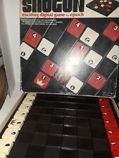 VINTAGE SHOGUN EXCITING DIGITAL BOARD GAME EPOCH PLAYTHINGS BOXED 1976 Chess