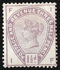 Great Britain Stamp 1883-84 1 1/2d Queen Victoria Scott # 99 SG188 MINT OG H