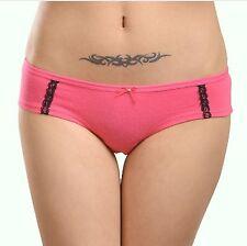 Multi pack (3 Pieces) women's cotton spandex seamless underwear briefs knickers