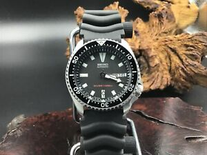 SEIKO SKX173 Automatic Diver Watch 200 Meter 7S26-0028