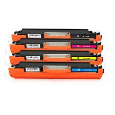 4PK BCYM Toner cartridges CE310A-CE313A For HP COLOR LASERJET CP1020 CP1025 126A