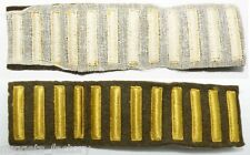 bande de Patchs / Grades / Service Stripes Originaux US Army WWII ( 129 )
