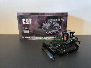 DIECAST MASTERS 85705 1:50 SCALE CAT D6XE WITH BLADE BULLDOZER BLACK