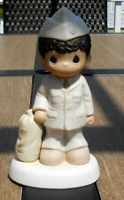 "Precious Moments Figurine - ""Bless Those Who Serve Their Country"""