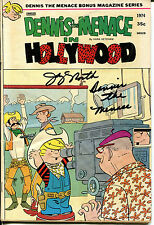 JAY NORTH - DENNIS THE MENACE IN HOLLYWOOD Comic Book - SIGNED In Person