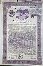 1955 Maine Central Railroad Company Bond Stock Certificate