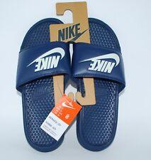 c5b041214d8d NEW Nike Benassi JDI Slide Sport Sandals - Midnight Navy Windchill