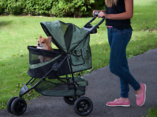 Pet Gear No-Zip Special Edition 3 Wheel Pet Stroller Foldable for Cats/Dogs Pets