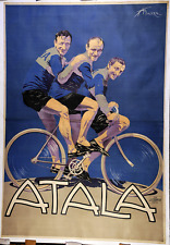 Atala - Original Vintage Bicycle Poster - Cycling - Italy