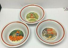 "Pottery Barn ""PASTA RUSTICA""  3 Piece Pasta Bowl Set"