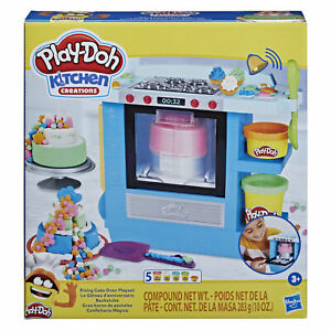Play-Doh Kitchen Creations Rising Cake Oven Bakery Playset for Children