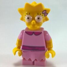 Lisa Simpson Pink Dress LEGO Collectible Minifigures The Simpsons Series 2