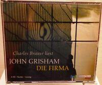 Die Firma + John Grisham + Spannender Thriller + Hörbuch auf 4 CD /103