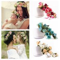 Kids Girls Newborn Baby Toddler Flower Headband Hair Band Accessories Headwear
