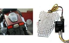 Honda VTX 1300 & 1800 Custom Integrated LED Taillight w/ Clear Lens