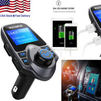 Bluetooth Car MP3 Player FM Transmitter Wireless Radio Adapter 2 USB Charger US