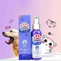 Pet Teeth Breath Cleaning Freshener Dog Cat Dental Spray Care Cleaner 60ML/14ML