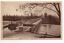 PENICHES et thémes bateaux Port batellerie écluse CPA 71 DIGOIN le pont aqueduc-