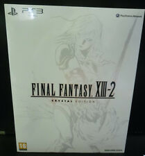 FINAL FANTASY XIII-2 13-2 CRYSTAL EDITION LIMITED COLLECTOR'S EDITION  NUOVO PS3
