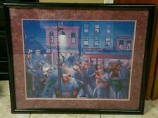SIGNED ARCHIBALD MOTLEY PAINTING