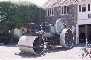 Aveling & Porter Road Roller, Guernsey, 1999 Original Slide
