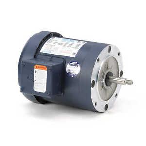 Leeson Electric Motor 114207.00 1 HP 3450 Rpm 3PH 230/460 Volt 56J Frame