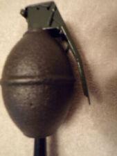 """Lemon"" Hand Grenade shift knob M/C foot peg Military grade"