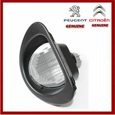 Genuine Peugeot 107 & Citroen C1 Number Plate Lamp / Light. New 6340E2