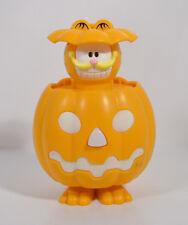 "RARE 2013 Garfield Pumpkin 4"" Quick Restaurant France EUROPE Action Figure Toy"