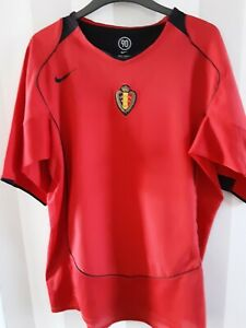 Belgium 🇧🇪 2004/05Nike Home Shirt Size Medium