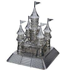 Jeruel 3D Crystal Puzzle DIY Jigsaw Assembly Toy Miniature Gift Kit Black Castle