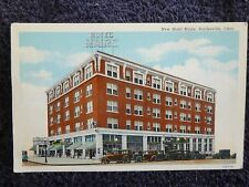 1930's The New Hotel Maire in Bartlesville, Ok Oklahoma PC