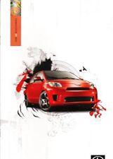 2008 08 Scion XD  Sales brochure MINT