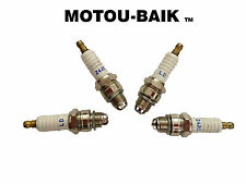49cc 66cc 80cc ENGINE MOTORIZED BICYCLE 3 ELECTRODES PERFORMANCE SPARK PLUG SET
