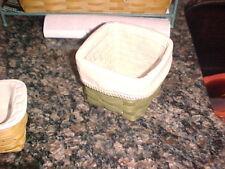 New Longaberger retired Olive Teaspoon Basket Set