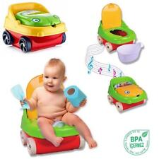 FROG MUSICAL POTTY TOILET TRAINEE SEAT ASSORTED