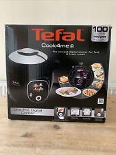 Tefal Cook 4ME+ CY851840 Digital Multi Pentola a pressione 6L-Nero/Acciaio Inox