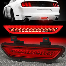 [LED TUBE]FOR 15-18 FORD MUSTANG THIRD 3RD TAIL BRAKE LIGHT REVERSE LAMP RED