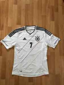 Adidas Germany #7 Bastian Schweinsteiger Jersey White