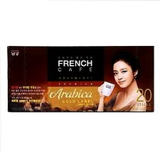 Korea Coffee Mix Namyang French Cafe Gold Label Arabica 20 SticksX11.5g 1Set