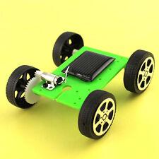 Mini Solar Powered Toy DIY Car Kit Kids Educational Gadget Hobby Baby Gift Goody