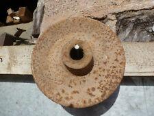 Polea de rueda Steampunk pesado sólido Barn Rustica Vintage Industrial (ref X1)