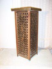 Brass & Copper Machine Age Modernist Bauhaus Arts & Crafts Umbrella Stand